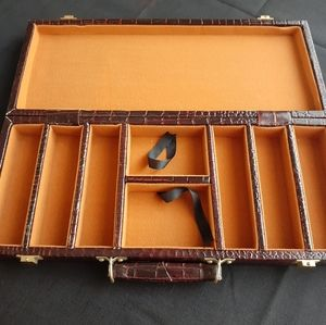 Vtg jewelry travel case